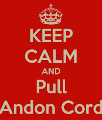 Andon sign