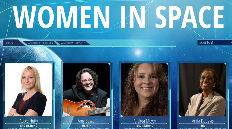 Women in Space screenshot