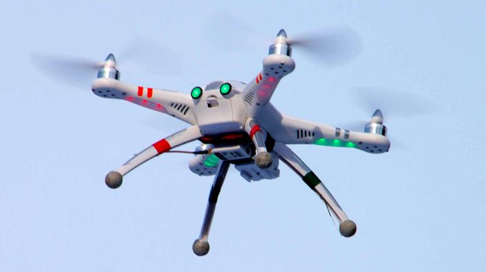 UAV airborne