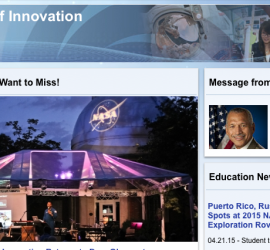 NASA summer of innovation