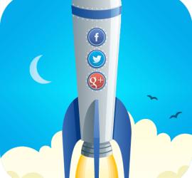 social media rocket