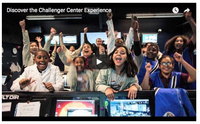 Challenger Center SAC video screenshot