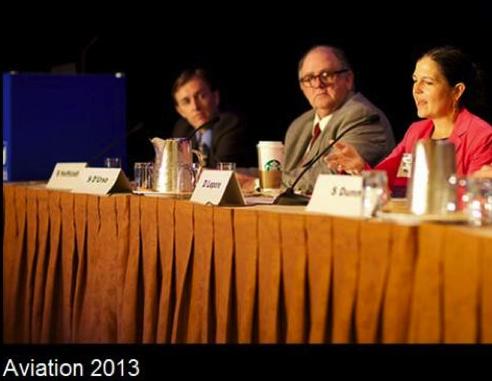 Brett Hoffstadt on AIAA panel