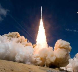 Ares rocket launch